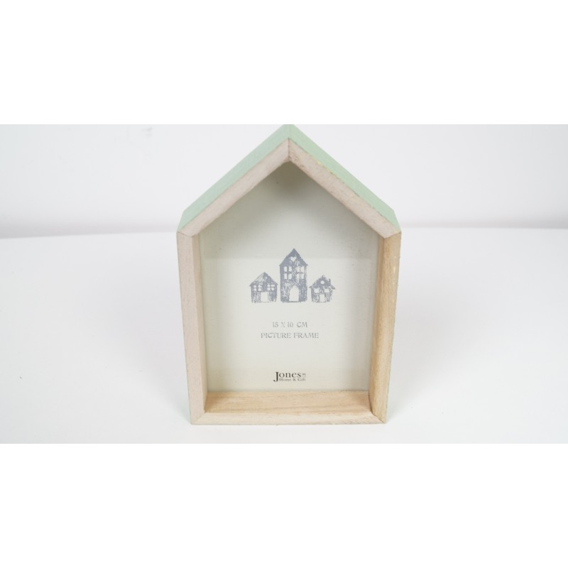 House Picture Photo Frame Pink Or Mint Small