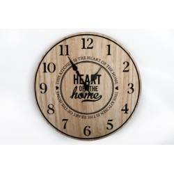 Heart of Home wooden Wall Clock to the Kitchen