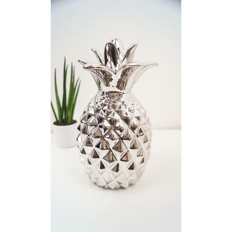 Silver Pineapple Ornamental Pineapple