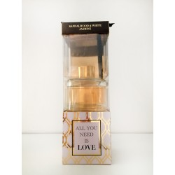 Glamour Gold Diffusers - Sandalwood and White Jasmine
