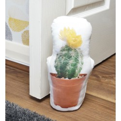 Decorative Cactus Doorstop