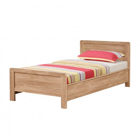 Holland Oak 3ft Single Bed